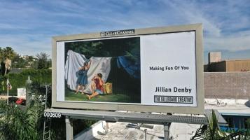 Jillian Denby, The Billboard Creative 2020 Show; Image courtesy of The Billboard Creative