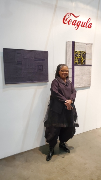 Lavialle Campbell. LA Art Show, LA Convention Center; Photo credit Kristine Schomaker