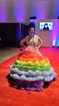 Miss Artworld. LA Art Show, LA Convention Center; Photo credit Kristine Schomaker