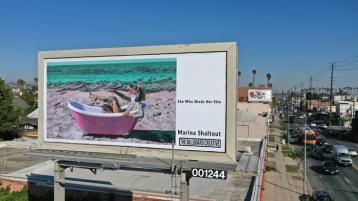 Marina Shaltout, The Billboard Creative 2020 Show; Image courtesy of The Billboard Creative