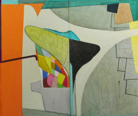 Brenda Goodman, Double Talk, On a New Coast, The Landing; Image courtesy of the gallery