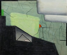 Brenda Goodman, Green Ice, On a New Coast, The Landing; Image courtesy of the gallery