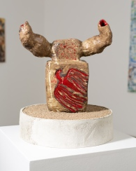 Galia Linn, Horned One, If Everything is an Outrage: The Binder of Women, Track 16 Gallery; Image courtesy of the gallery